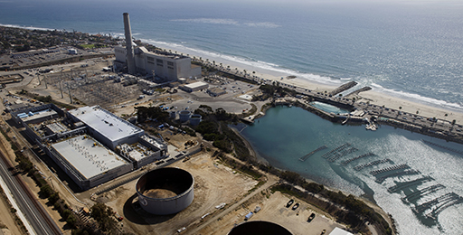 Desalination plant in California