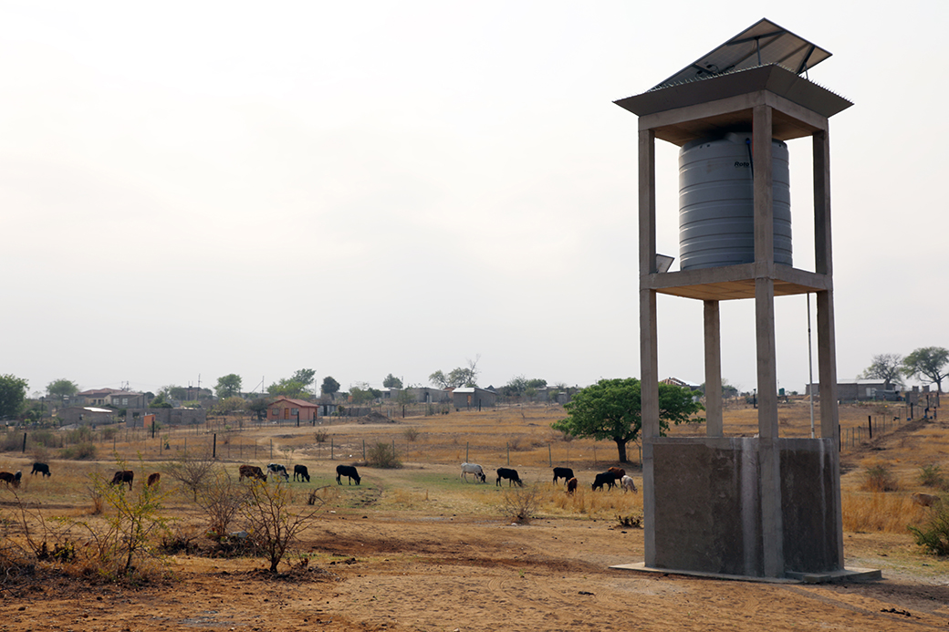 Innovation Africa solar-powered water pump