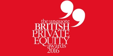 "Investec Debt provider of the Year at The Unquote"" British Private Equity Awards"