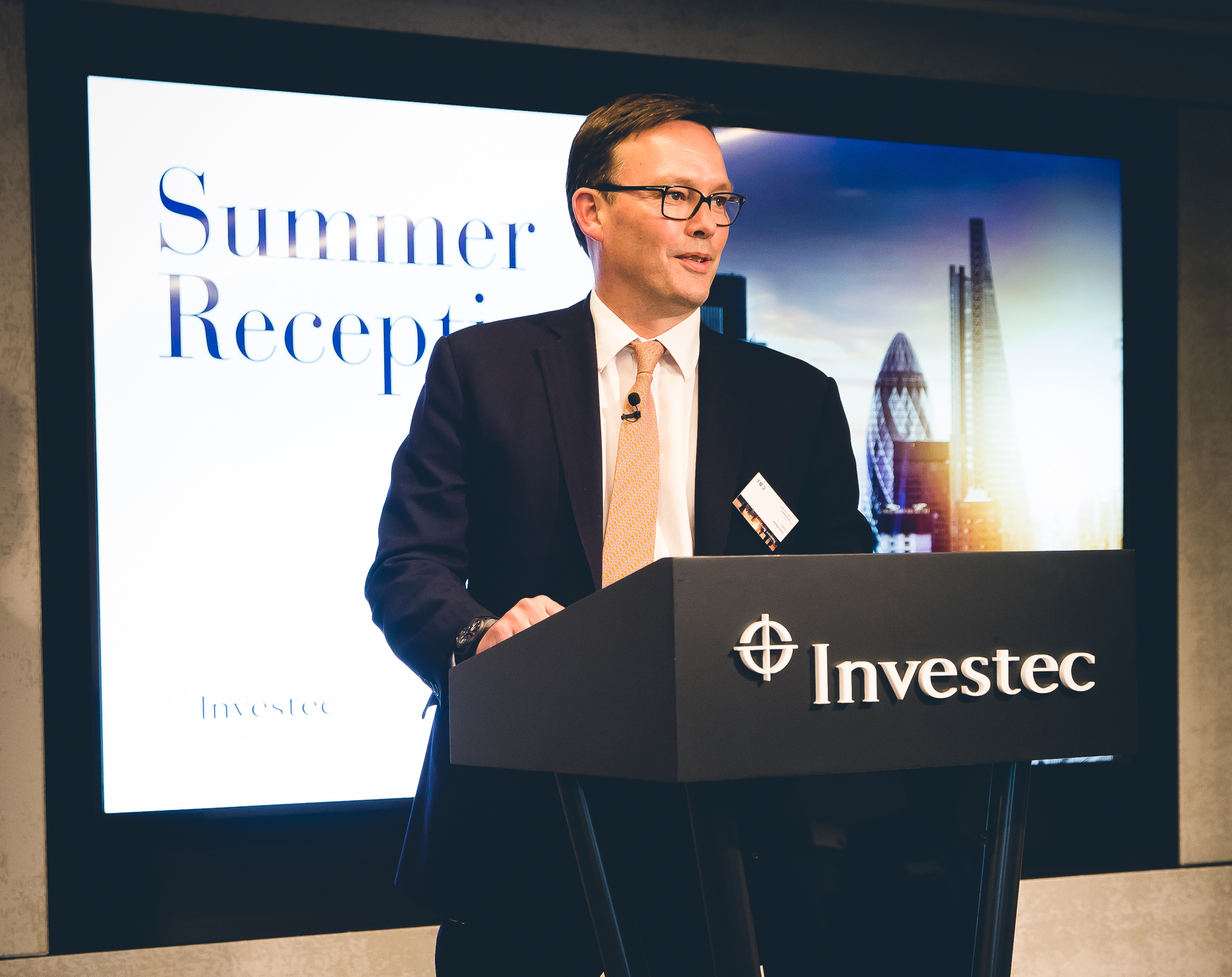 Chris Meyer at CBI Summer Reception