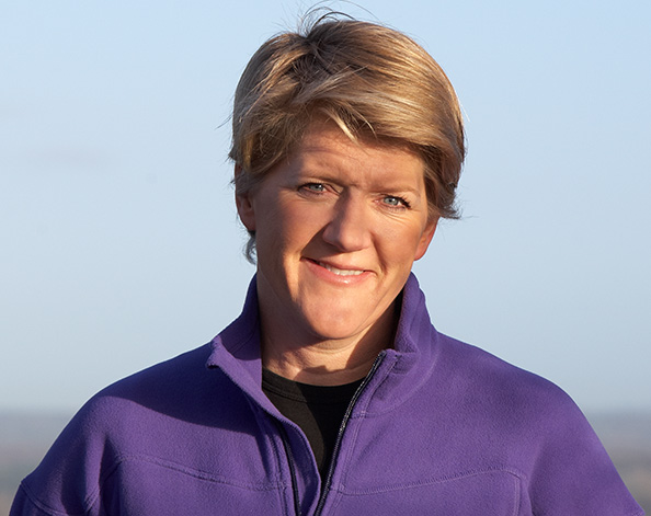 Clare Balding, TV presenter and Investec Ambassador