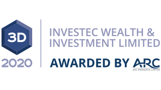 Arc award for Investec Wealth & Investment