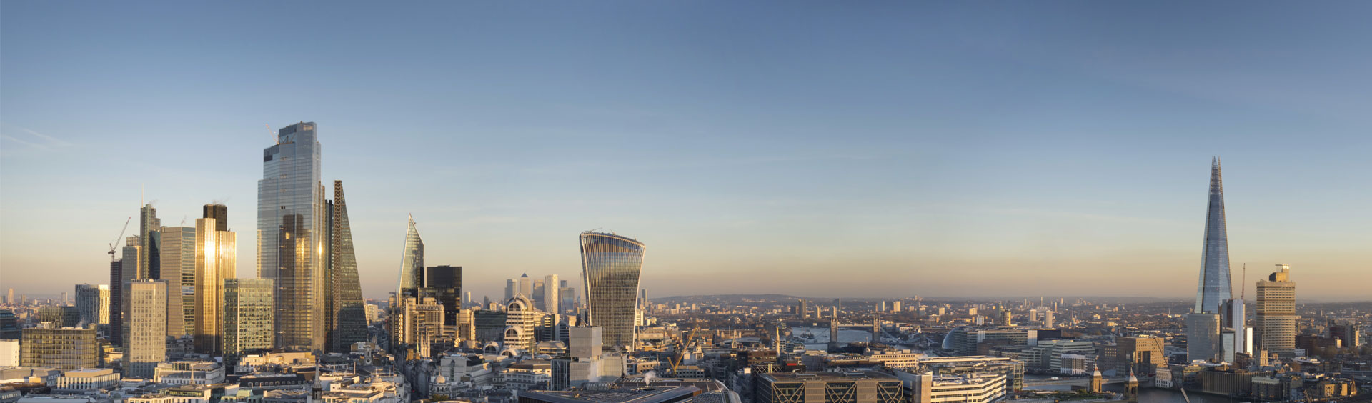 Iconic London skyline